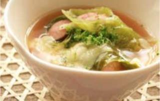 義式香腸蔬菜湯