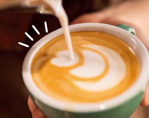丹麥無乳糖牛乳 | 拿鐵咖啡
