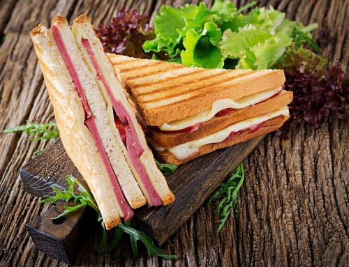 庫克先生三明治