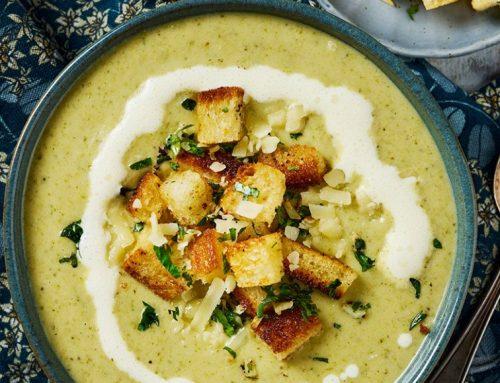 風味花椰菜燉湯